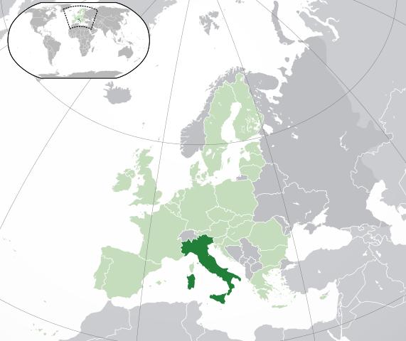 Karta Nord Italien.Kartor Over Italien Om Italien